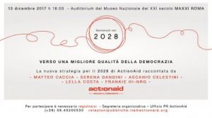 13/12/2017 - ACTION AID strategia 2018-2028